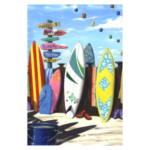 "Surfboard Central Garden Flag 12 1/2"" x 18"" - 1110281"