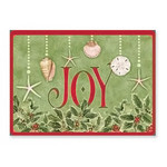 Joy Shell Beach Christmas Cards 16 per Box 27-080