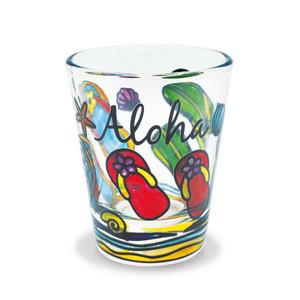 Flip Flops Aloha Beach Shot Glass 00881000