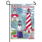 Welcome Lighthouse GARDEN Flag - 14S3704