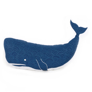 Blue Whale Shaped Decor Throw Accent Pillow 20153
