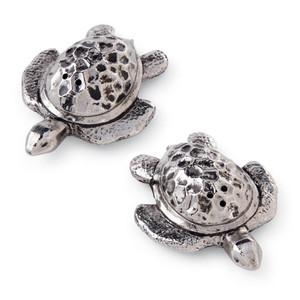Tropical Sea Turtle Salt Pepper Shaker Set - Metal - 4501021