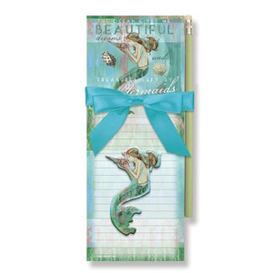 Mermaid Dreams Magnetic List Pads with Magnet Set - 91-405