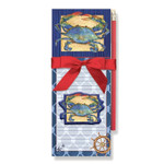 Blue Crab Magnetic List Pads with Magnet Set - 91-404