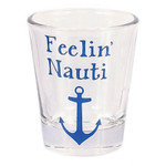 Nautical Theme Feelin Nauti Shot Glass - 20394F