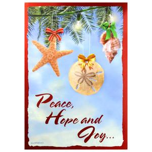 Peace Hope Joy Christmas Cards Box of 10 - C73919