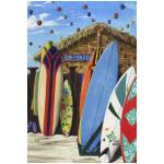 Surf Tiki Shack Beach Days GARDEN Flag - 1110282