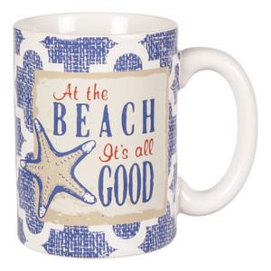 At the Beach Its All Good Ceramic Coffee Mug - 10929