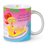 Hot Flashes Shore Ceramic Mug 13oz 714-49