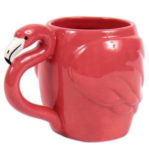Pink Flamingo Ceramic  14 oz Mug - 60030