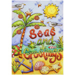 Seas and Greetings Christmas Cards 10 Box C74721