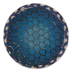 """Turtle Shell Table Trivet - SET OF TWO - 7"""" - H-005-7"""