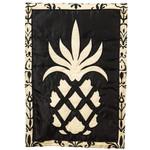 """Traditional Pineapple Fiber Optic Garden Flag - 12"""" x 18""""- 16SL7830"""