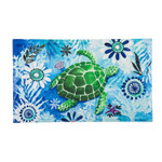 Sea Turtle Embossed Floor Mat 41EM2317