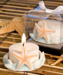 Starfish Beach Shell Votive Candleholder for Tea Light Candle Q-8309
