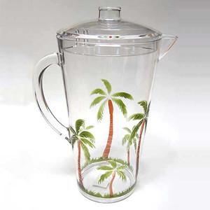 Palm Breeze 2Qt Acrylic Pitcher 25440