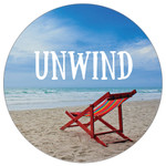 Unwind at the Beach - Stone Car Coaster CB73189