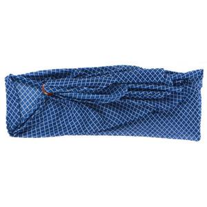 Blue and White Quatrefoil Pattern Sarong - 20151C