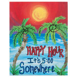 Happy Hour Island Time Canvas 35358