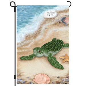 Born Free Turtle Garden Flag 12x18 51857