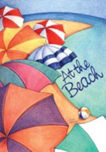 Beach Umbrellas HOUSE Flag - 108043