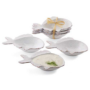 Fish Dip Cup Set of Three 108086
