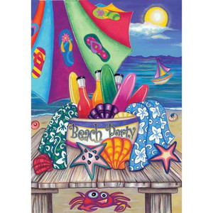 Beach Party Garden Flag 112569