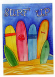 "Surf Boards ""Surf's Up"" Garden Flag - 113198"