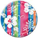 "Hibiscus Tropical Paper Plates 7"" 412744"