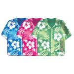 "Tropical Hibiscus Shirt Paper Plates 9"" 420744"