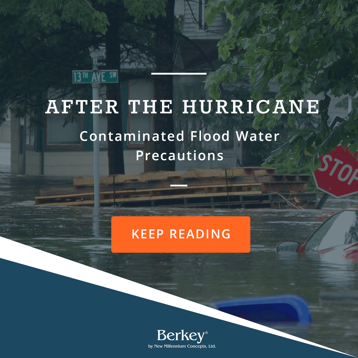 After the Hurricane: Contaminated Flood Water Precautions