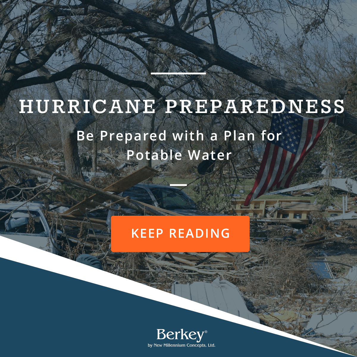 Hurricane Preparedness: A Plan for Potable Water