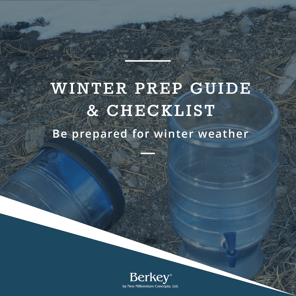 Winter Prep Guide and Checklist: Be prepared for winter weather