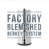Blemished Travel Berkey® System (1.5 gal)