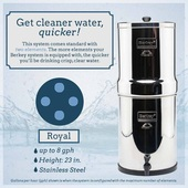 *Royal Berkey® System (3.25 gal) with 4 Filters