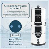 * Travel Berkey® System (1.5 gal)
