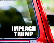 "IMPEACH TRUMP vinyl decal sticker 7"" x 3"" POTUS Donald Trump"