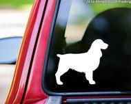 "Springer Spaniel Dog - English Welsh Cocker - Vinyl Decal Sticker - 5"" x 4.25"""
