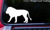 LION Vinyl Sticker Big Cat Africa - Die Cut Decal