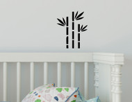 "BAMBOO Vinyl Decal Sticker 5"" x 6"" Shoots Plant Tree Flower"