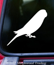 "BUDGIE 5"" x 4.5"" Vinyl Decal Sticker - Budgerigar Bird Parakeet Parrot"