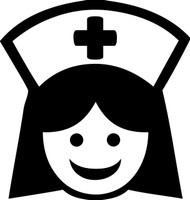 "NURSE 5"" x 5.25"" - V2 - Vinyl Decal Sticker  - ER OR RN LPN Nursing"