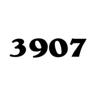 """SET OF TWO Custom Mailbox Numbers or House Lettering Name vinyl decal sticker 4"""" x 1"""""""