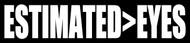 "ESTIMATED>EYES 8"" x 1.5"" Vinyl Decal Sticker - The Grateful Dead Weir Jerry Garcia"