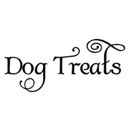 DOG TREATS Vinyl Sticker - Puppy Snacks Training - Die Cut Decal