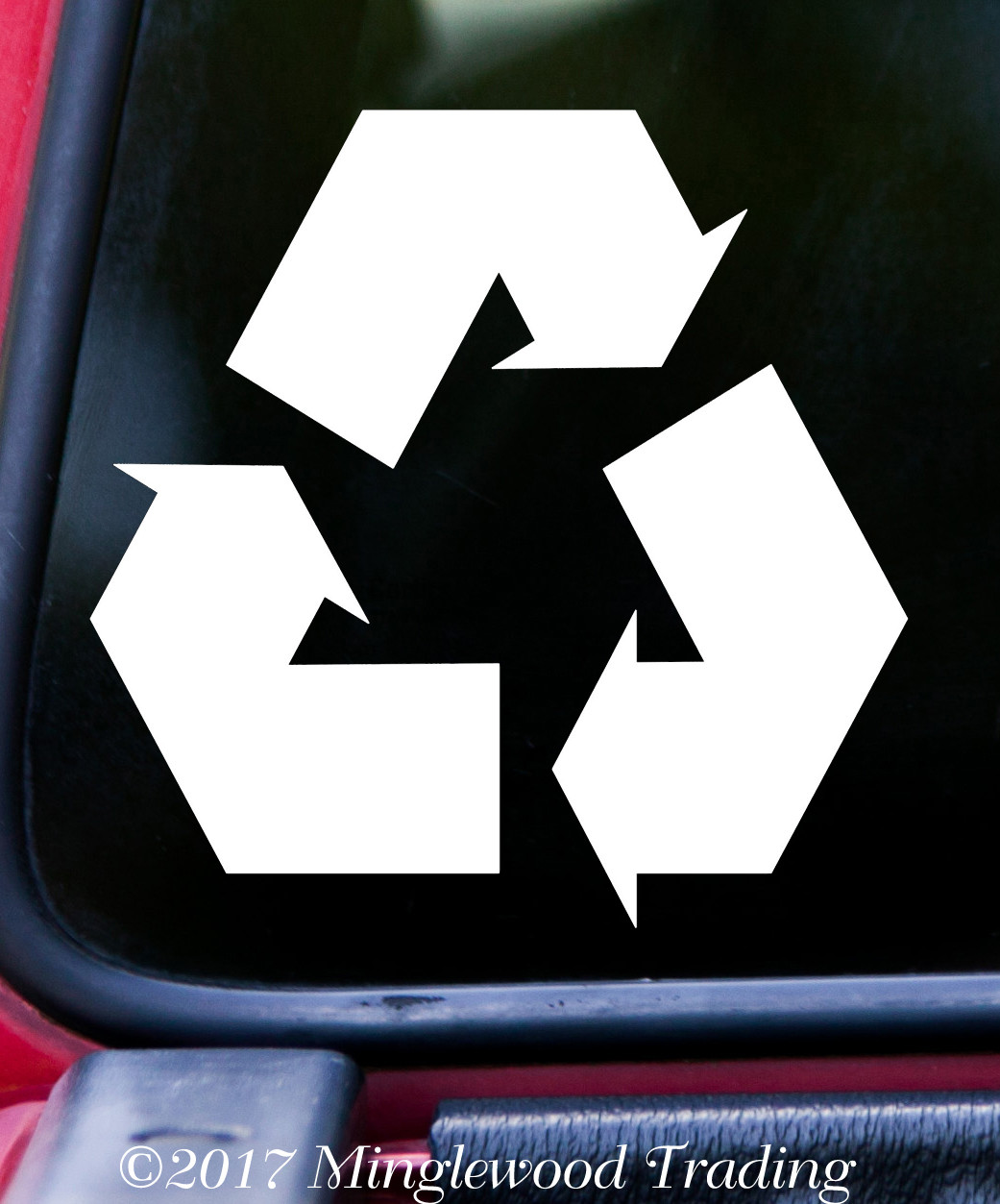 Recycle Symbol 5 X 5 Vinyl Decal Sticker Reduce Reuse Recycling