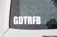"GDTRFB 5"" x 1.5"" Vinyl Decal Sticker - the Grateful Dead Weir Jerry Garcia FREE SHIPPING"
