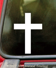 "CROSS 5"" x 3.5"" Vinyl Decal Sticker - V1"