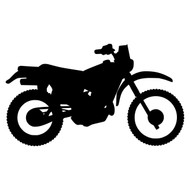 "DIRT BIKE 6"" x 3.5"" V2 - Vinyl Decal Sticker - Motocross Motorcycle"
