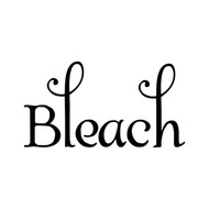 "Bleach 5"" x 2.5"" Vinyl Decal Sticker - Laundry Room label"